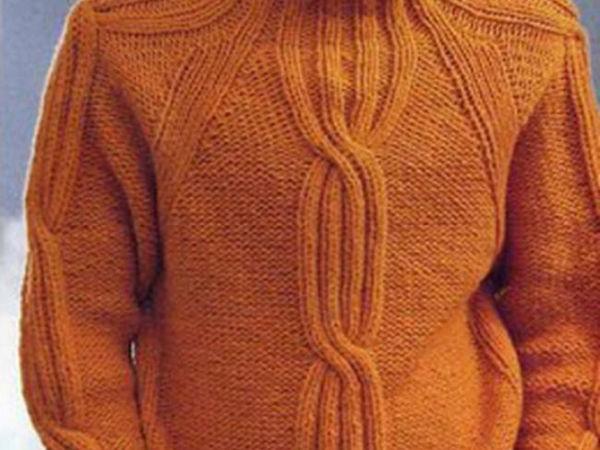 Вязаные мужские свитера | Ярмарка Мастеров - ручная работа, handmade