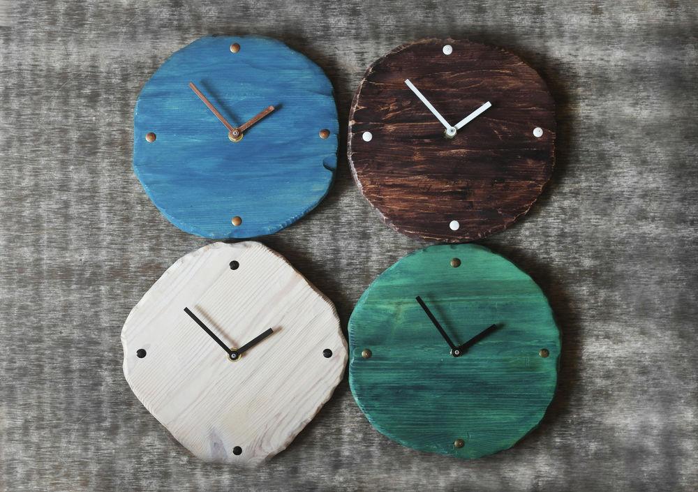 часы, часы в стиле лофт, artcucumber