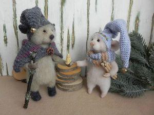 Домик где живут добрые мыши.. Ярмарка Мастеров - ручная работа, handmade.