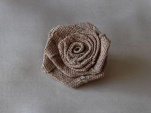 How to Make a Little Rose of Fabric. Livemaster - handmade