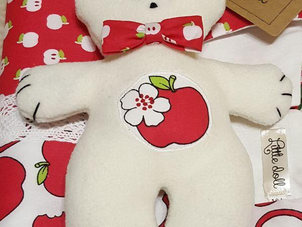 Мишка-подарок | Ярмарка Мастеров - ручная работа, handmade