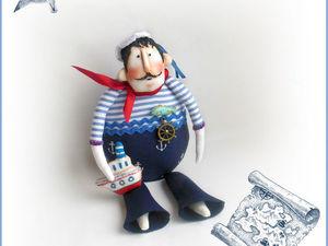 У меня в магазине новая кукла! Морячок. Ярмарка Мастеров - ручная работа, handmade.
