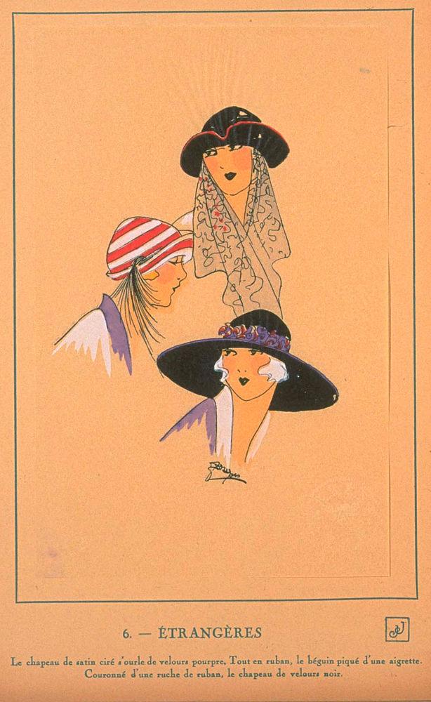 Ах, какие шляпки! Шляпная мода 1922 года по версии французского журнала «Les chapeaux du Tres parisien». Часть 2, фото № 8