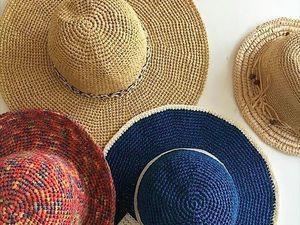 Шляпы из рафии — как ухаживать. Ярмарка Мастеров - ручная работа, handmade.