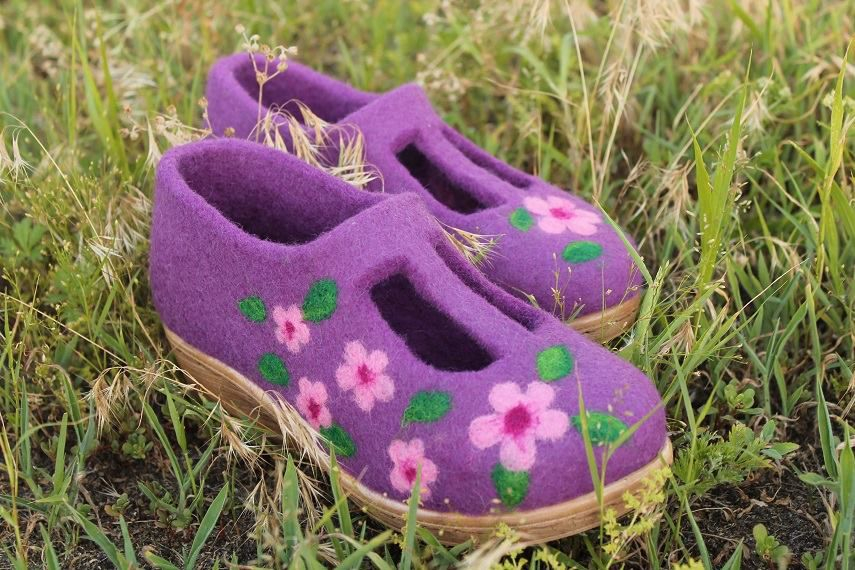валяная обувь, мк в москве