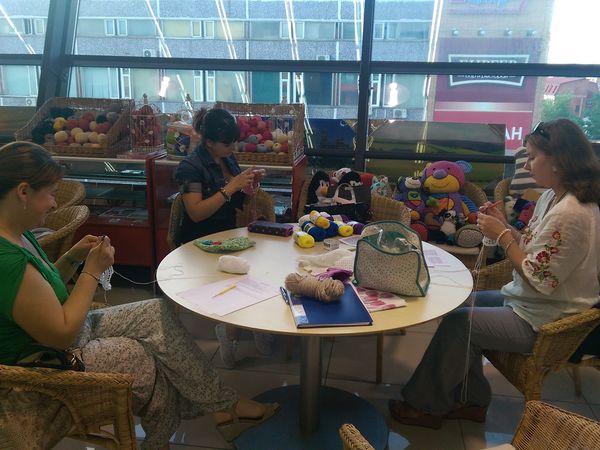 Занятие студии вязания крючком «Bergitte» для взрослых и детей от 12 лет   Ярмарка Мастеров - ручная работа, handmade