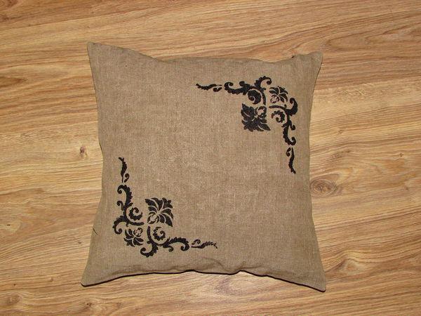 Подушка декоративная.Рустик. | Ярмарка Мастеров - ручная работа, handmade