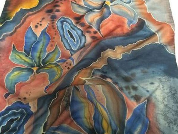 Палантин Sunset | Ярмарка Мастеров - ручная работа, handmade
