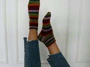 Женские носочки по супер цене.. Ярмарка Мастеров - ручная работа, handmade.