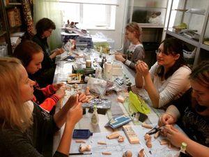 Как проходят занятия на курсе по шарнирной кукле. Ярмарка Мастеров - ручная работа, handmade.