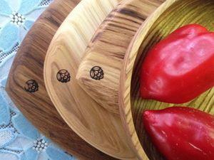 Комплект для кухни от мастерской Кедр прибыл :). Ярмарка Мастеров - ручная работа, handmade.
