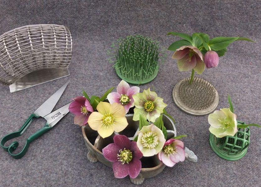 flower frog, rose bowl