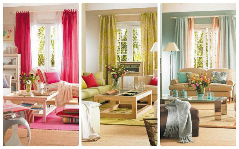 идеи, текстиль в интерьере, как выбрать цвет гардин, цвет портьер