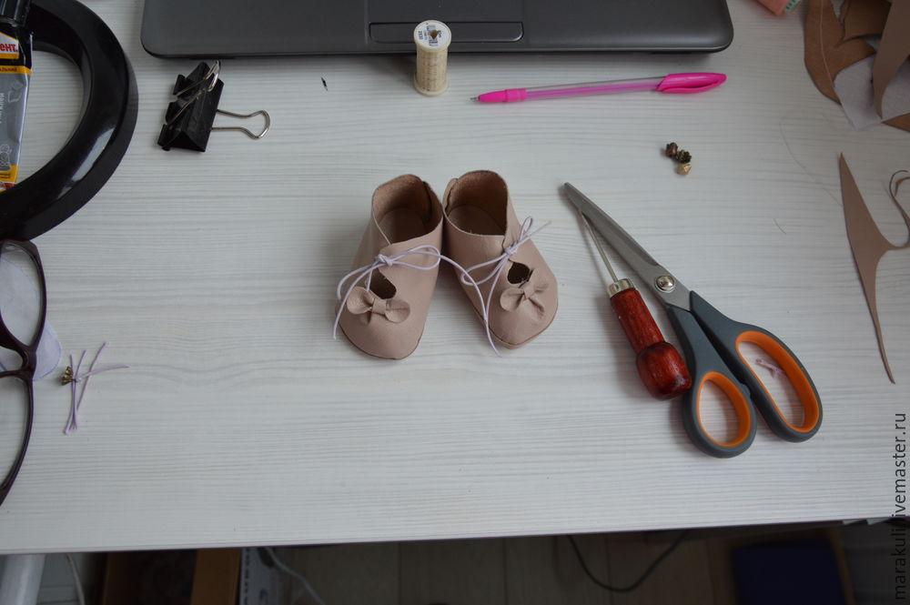 пошив туфелек