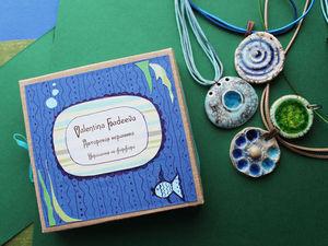 Что получается из морских подвесок.. Ярмарка Мастеров - ручная работа, handmade.