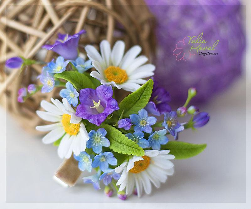 украшнения с цветами