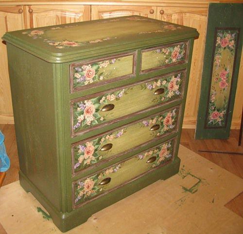 Преобразовать старая мебель своими руками