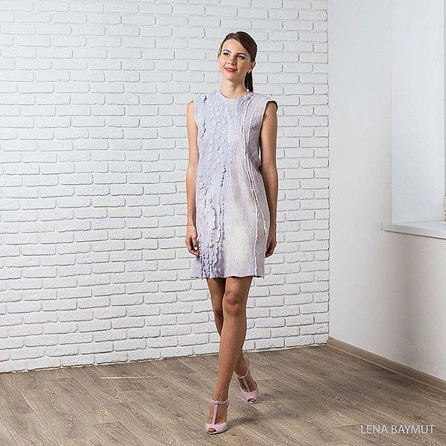 лена баймут, платье своими руками, валяние для начинающих