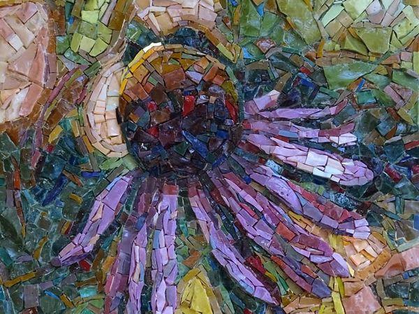 Мозаичные картины невероятной красоты от Cathy Taylor   Ярмарка Мастеров - ручная работа, handmade