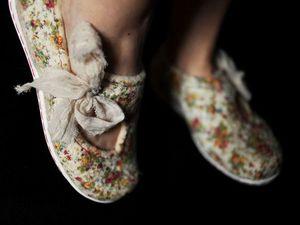 Летние туфли Мери Джейн в технике нуно-фелтинг   Ярмарка Мастеров - ручная работа, handmade