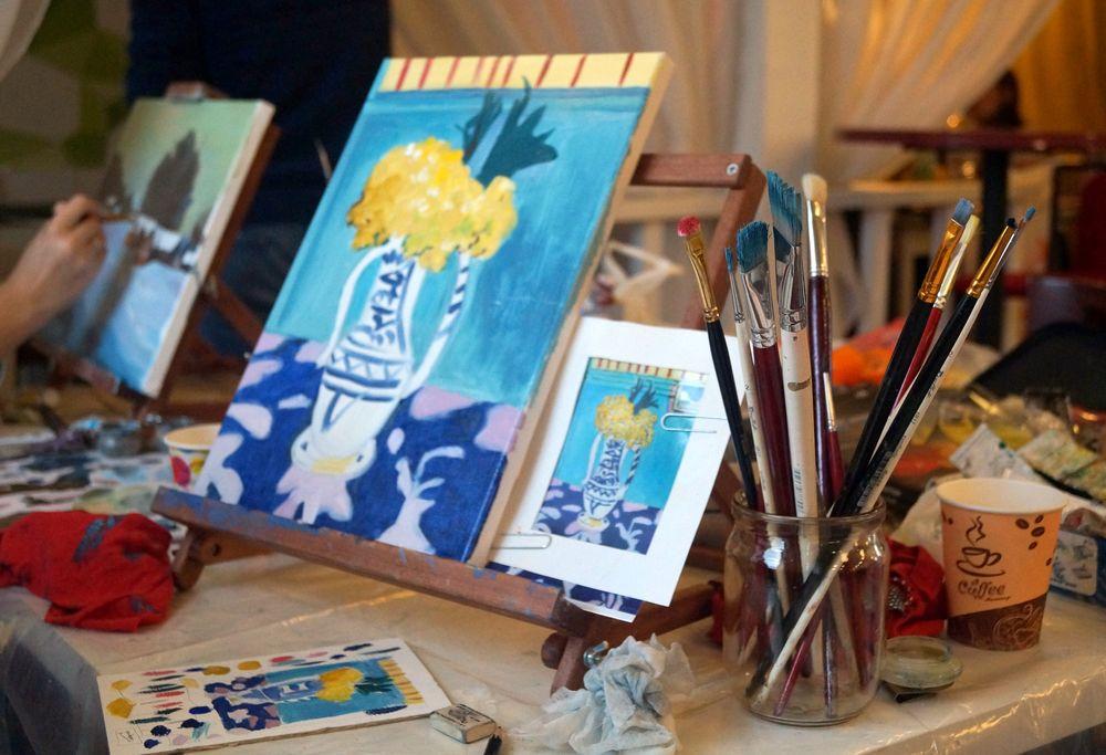 мастер-класс по живописи, открытки в подарок, интерьерные картины, подарок мужчине