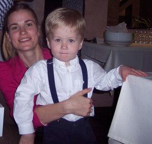 Ваня с мамой