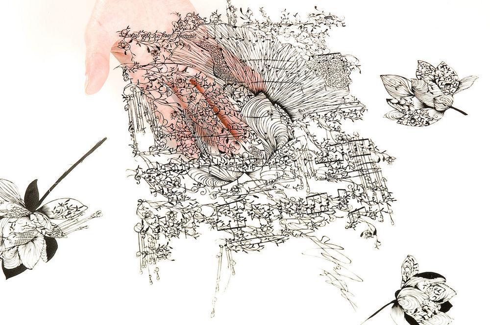 1 310 Бумажные кружева Хины Аоямы