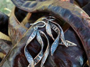 «Акационные» серьги. Как они родились. Ярмарка Мастеров - ручная работа, handmade.