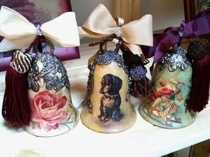 Коллекция керамических подвесок и колокольчиков. Ярмарка Мастеров - ручная работа, handmade.