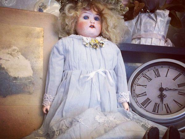 Готовлю куклу в антикварном стиле!   Ярмарка Мастеров - ручная работа, handmade