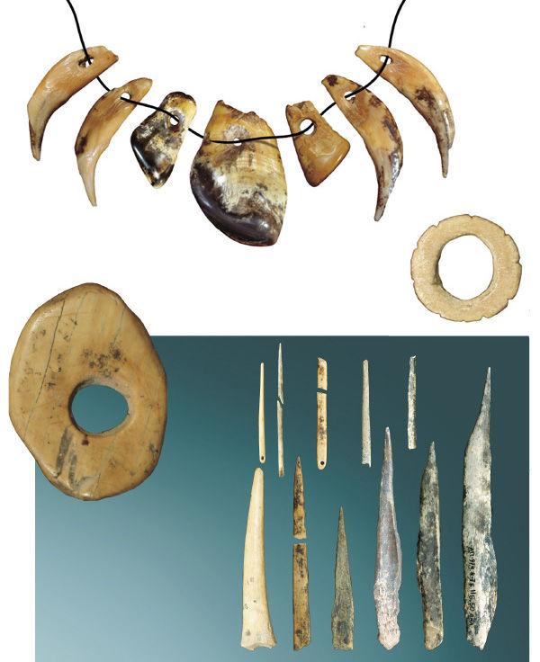 украшения из кости