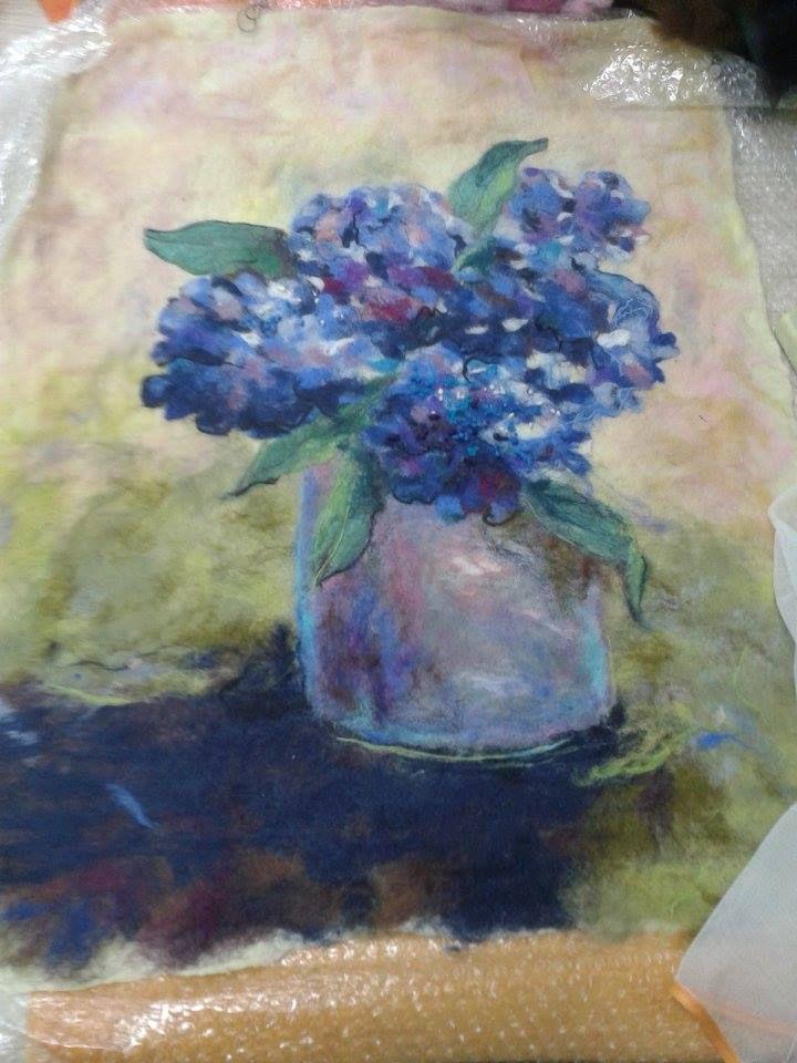 рисование, картина маслом