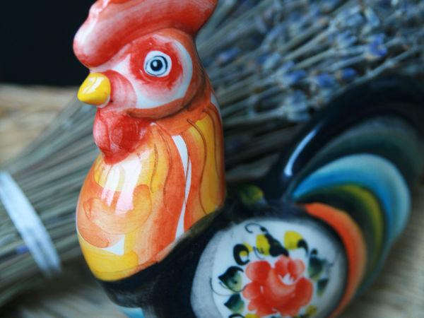 Петушок к Новому году во втором магазине. | Ярмарка Мастеров - ручная работа, handmade