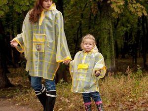 Мастер-класс по пошиву дождевиков для всей семьи в стиле Family Look. Ярмарка Мастеров - ручная работа, handmade.