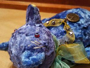 Коллекционный мишка тедди 1800 р. Ярмарка Мастеров - ручная работа, handmade.