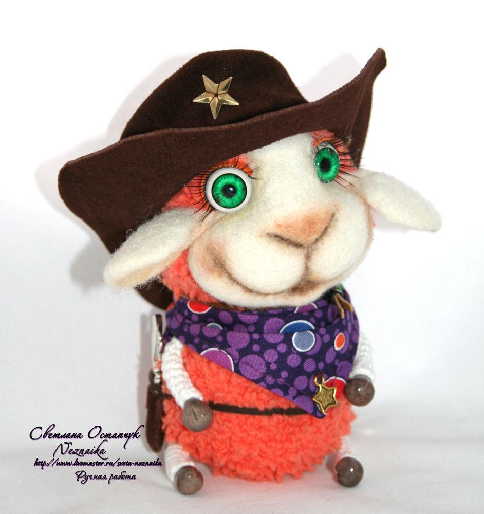 овечка игрушка