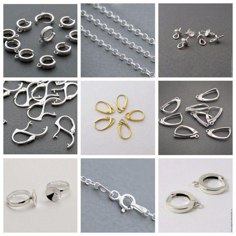 новое поступление, поступление, поступление товара, швензы, кольцо из серебра, кольцо, цепочка, цепь, цепочки, шапочки для бусин, фурнитура для украшений, серебро 925 пробы, серебро 925, фурнитура для бижутерии
