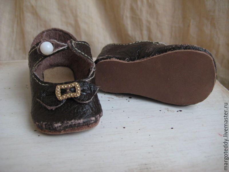 Мастер класс по изготовлению кукольной обуви