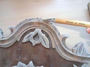Рама для зеркала в кукольную мастерскую. Мастер-класс. Ярмарка Мастеров - ручная работа, handmade.