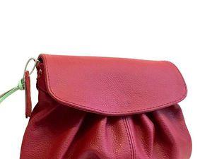 Аукцион на кожаную сумочку!!! | Ярмарка Мастеров - ручная работа, handmade