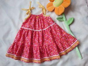 Платья для маленьких девочек. Ярмарка Мастеров - ручная работа, handmade.