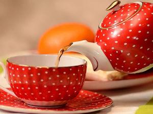 Сервировка чайного стола. Ярмарка Мастеров - ручная работа, handmade.