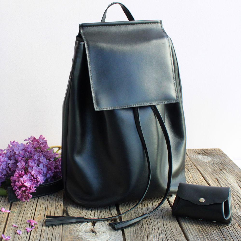 кожаный рюкзак, рюкзак из кожи