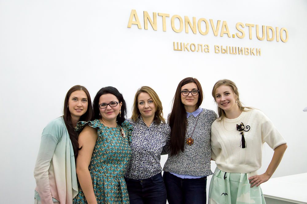 Открытие моей школы вышивки в Москве!, фото № 13