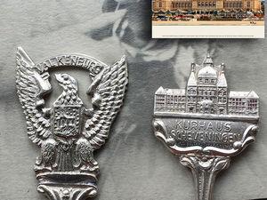 Винтаж. Ложки 12см. Голландия. Серебрение Ag.. Ярмарка Мастеров - ручная работа, handmade.