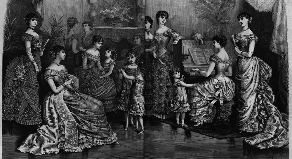 Восхитительная мода конца ХIХ века, фото № 12