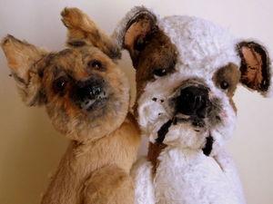 Москва. Мастер-класс по реалистичной собаке. | Ярмарка Мастеров - ручная работа, handmade