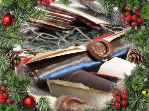 Письмо от Деда Мороза, или Как сделать открытку-свиток под елку. Ярмарка Мастеров - ручная работа, handmade.