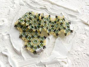 Видео мастер-класс: плетем браслет бисерные кружева. Ярмарка Мастеров - ручная работа, handmade.