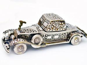 Музыкальная шкатулка Роллс-Ройс ручной работы Шкатулка-Машина Rolls-Royce. Ярмарка Мастеров - ручная работа, handmade.